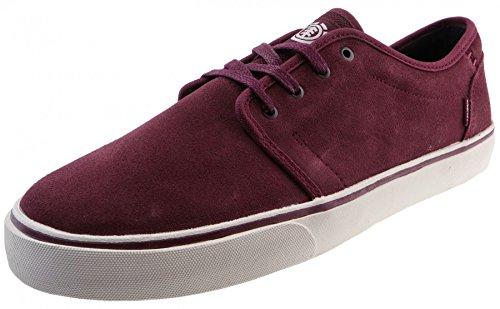 Element Herren Darwin Sneakers Low-Top Rot