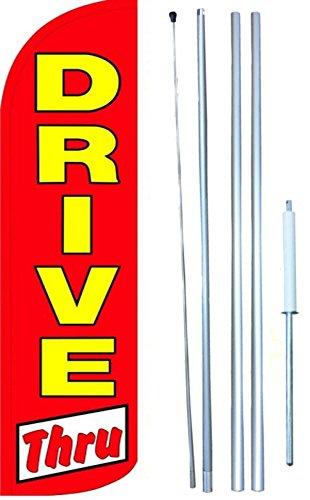 Drive Thru Swooper Windless Flag Kit (full sleeve flag)