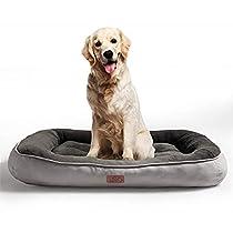 Bedsure Cama Perro de Felpa de tamaño M,L,XL