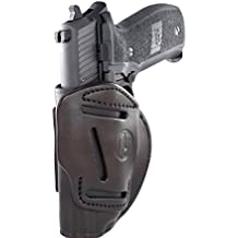1791 Gunleather 3-WAY SIG P226 & P229 Holster - OWB CCW Holster Ambidextrous - Right or Left Handed Leather Gun Holster - Fits Sig Sauer P226, Sig P229, P220, P320c, P239 (3WH SIZE 5)