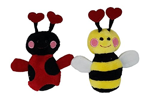 Ganz Lovely Ladybug and Bee Happy Bee Magnet Mates (2 Magnet Mates)