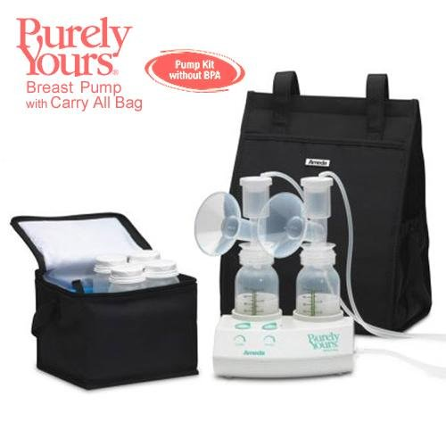 Ameda Breastfeeding Products Purely Yours Breast Pump with Carry All & AC Adapter (EW17077) Category: Breast Pumps And Supplies by Ameda Breastfeeding Products