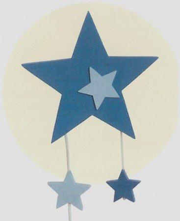 wandlampe mit spieluhr stern blau roba: amazon.de: küche & haushalt - Roba Küche