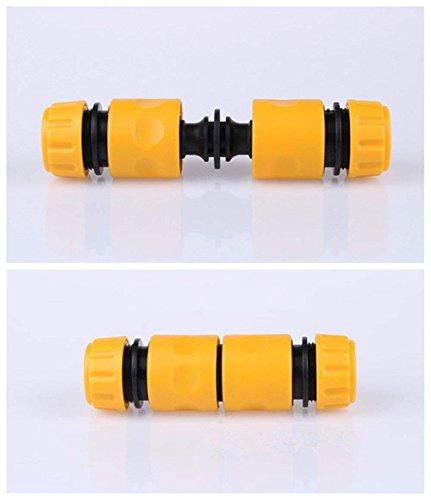 Topways® 6* Plástico Doble Extensor Conectores Double Male Hose End Connector Extender para unirse a la Manguera de jardín: Amazon.es: Jardín
