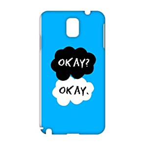 Evil-Store Cartoon warm dialogue 3D Phone Case for Samsung Galaxy Note3