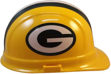 Texas American Safety Company NFL Green Bay Packers Hard Hats with Ratchet Suspension 2