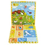 """Creative Baby Interactive i-Mat™ 2-pack """"My Animal World"""" & """"ABC"""" with Voice Pen offers"""