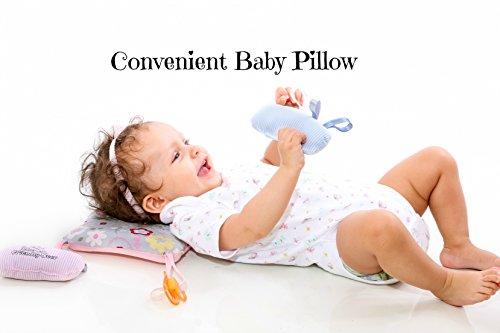 Slip-on Arm Nursing Pillow & Plush w/ Slip-Cover & Carry Bag 8.5 x 7 x 2.75 in by Friendly Deer (Image #5)