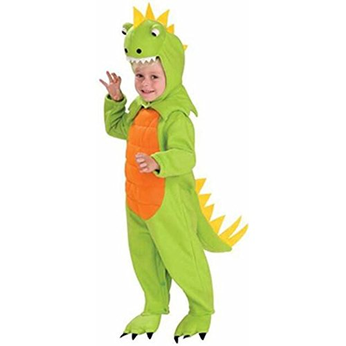 Orange Trex Costumes For Kids (Kids Dinosaur Costume Size: Youth Small 4-6)