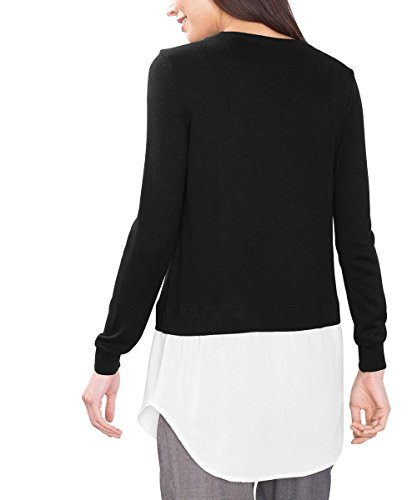 edc by Esprit, Suéter para Mujer Negro (Black 001)