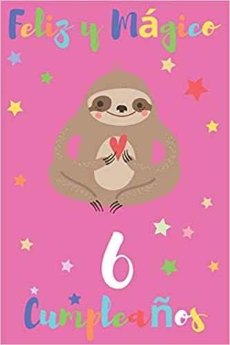 Feliz y Mágico 6 Cumpleaños: Regalo para Niños o Niñas de 6 ...