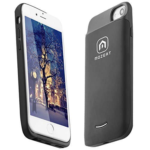 Mozeat [Updated] iPhone 6/6s Battery Case,4000mAh Slim Charging Case for 4.7 iPhone 7/8,Portable Charger case Supports Lightning Headphones