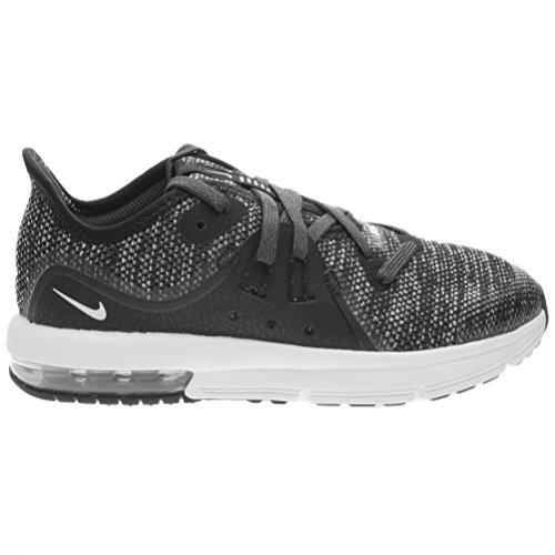 Nike Zapatillas de Material Sintético Para Niño Negro Negro/Azul Claro