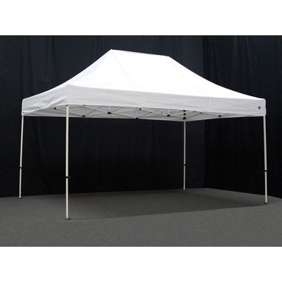 King Canopy FSSHST15WH 10-Feet by 15-Feet Festival Steel Instant Canopy, White by King Canopy
