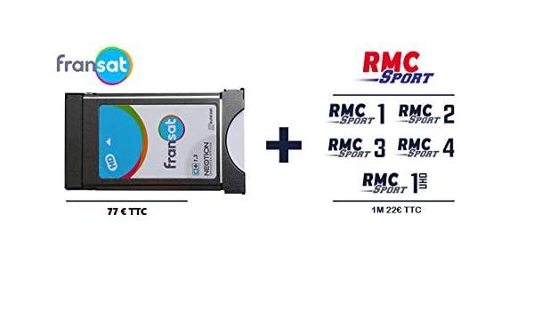 Módulo Fransat 4 K + Option RMC Sport 1 Mes: Amazon.es ...