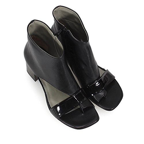 Black Thong Sandal IXOS Spring Heeled Summer Women's 2018 Shoes wES4Oz