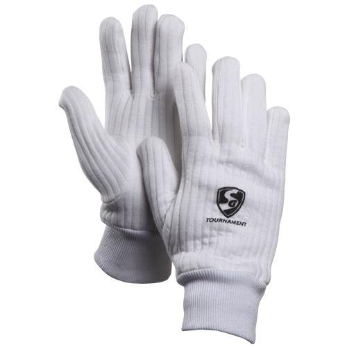 Wicket Keeping Gloves - SG Tournament Inner Gloves for Wicket Keeping Mens Size