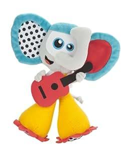 Babymoov A106310 - Elefante de peluche musical, multicolor