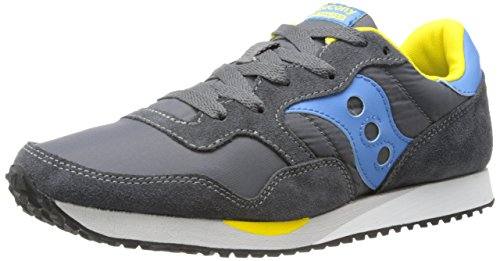 Saucony Originals Dames Dxn Sneakers Fashion Sneaker Charcoal / Blauw
