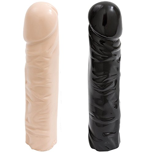 Hetam Huge Dildo - Realistic Sex Toy - Basix 8 Classic Dong - Doc Johnson by Hetam
