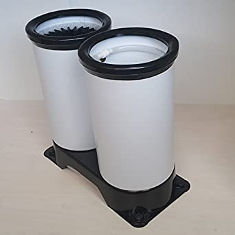 Sistema para lavar vasos Aparato para lavar copas Limpiador de vasos,Bar Lavador Cepillos,