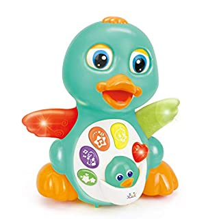 Musical Light Up Dancing Duck- Amazon Exclusive - Infant, Baby and Toddler Musical and Educational Toy for Boys and Girls
