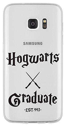 Samsung S7 Caso por licaso® para el patrón de Samsung S7 TPU Hogwarts Graduate HP Escuela Magia Hechiceria de silicona ultra-delgada proteger su Samsung S7 es elegante y cubierta regalo de coches HG