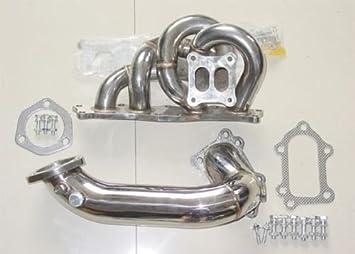 Acero inoxidable Turbo colector y tubería bajante para Toyota MR2 Celica GT4: Amazon.es: Coche y moto