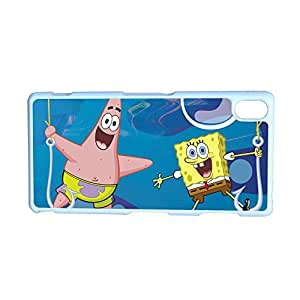 Generic Unique Back Phone Covers For Guys For Xperia Z3 Sony Print With Spongebob Squarepants Choose Design 2