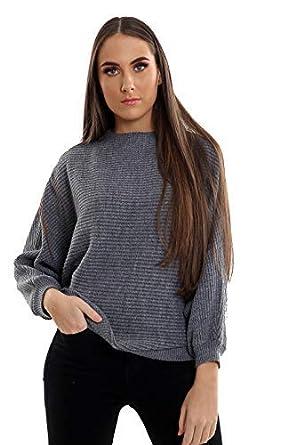 CELEB LOOK Celebmodelook H34 Neuf Chauve-Souris Aile Pull Tricot  Amazon.fr   Vêtements et accessoires 90d0e478cdd8