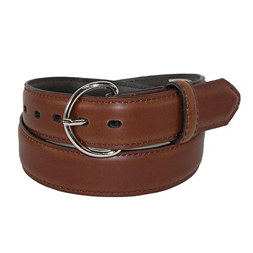 Rogers-Whitley Kids' 1 1/4 Inch Tooled Western Belt, Medium, Peanut Brittle (Western Peanut Brittle)