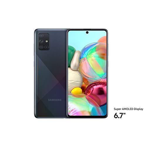 Samsung Galaxy A71 Dual SIM 128GB 8GB RAM 4G LTE (International Version) - Black