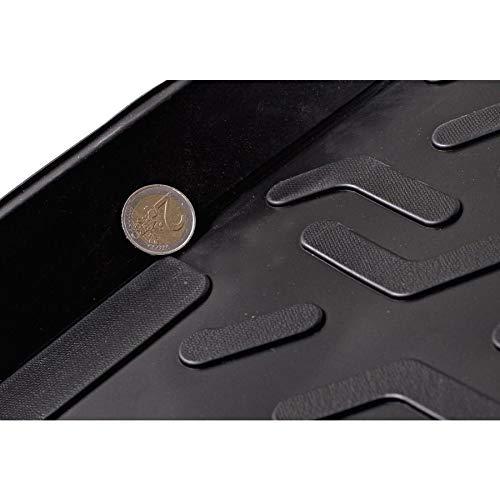 Vasca Anti-Scivolo e su Misura progettata per Il Trasporto Sicuro di Spesa,Bagagli e Animali Domestici SIXTOL Protezione del Bagagliaio per l/'Automobile Ford Fiesta V