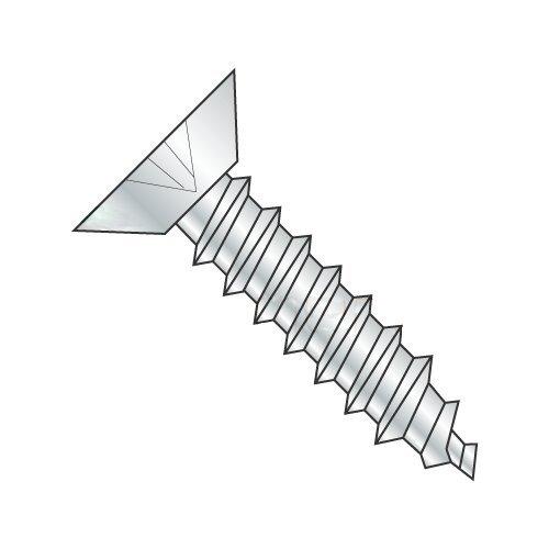 "#4 x 1/4"" Type AB Self-Tapping Screws/Phillips/Flat Undercut Head/Steel/Zinc (Carton: 10,000 pcs) 41WrWCMWUhL"