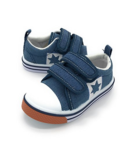 Blue Berry EASY21 Mesh Lightweight Sneakers for Baby Toddler Kids Breathable Fashion Shoes (7 M US Toddler, Denim1205)