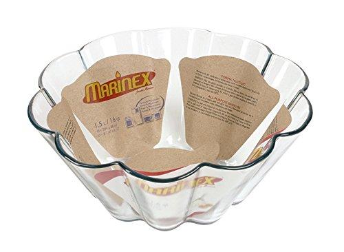 Marinex Bakeware Glass Brioche Dish, 8-1/4