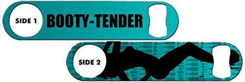 Inked Bottle Opener: Booty Tender – Teal For Sale