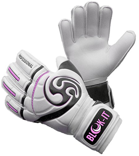 Blok-IT Goalkeeper Gloves Goalie Gloves - Make the Toughest Saves-Secure and Comfortable...