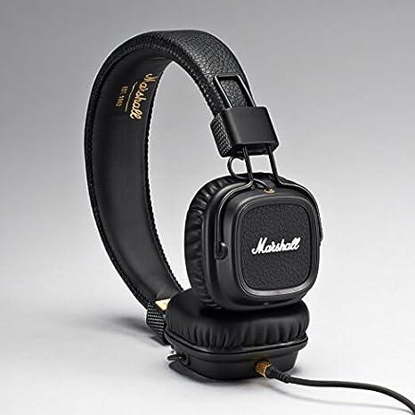 Marshall Cascos Major II con micrófono - Negro Pitch: Amazon.es: Electrónica