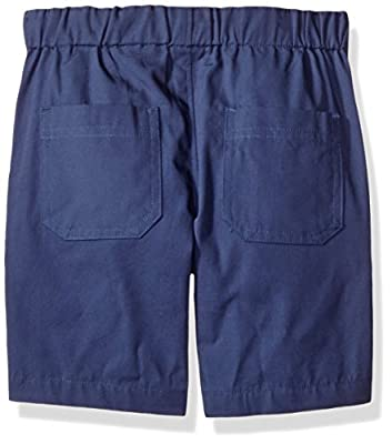 Nautica Boys' Short Sleeve Mini Stripe Button Down Shirt and Pull on Short Set