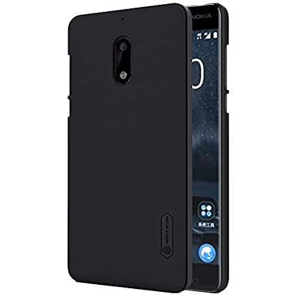 newest 27f5b 3dac5 Nillkin Frosted Shield Hard Back Cover Case for Nokia 6 (5.5 inch)- Black