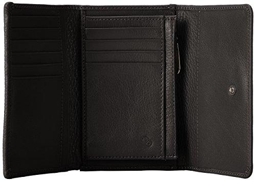 Portafoglio Nero Mandarina Mellow Leather Donna Duck Portafogli x4P8C