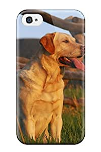 Quality Eric J Green Case Cover With Dog Nice Appearance Compatible With Iphone 4/4s