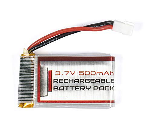HIZLI ZX-34937-BATT REPLACE PARTS FOR LiPo 3.7V 500mAh Battery For Striker RC Drone ZX-34937 SKU