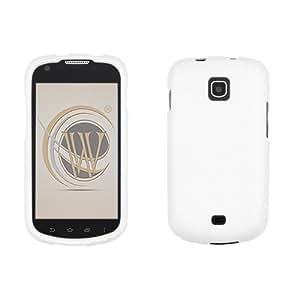 White Rubberized Hard Case Cover for Samsung Jasper/Galaxy Stellar I200