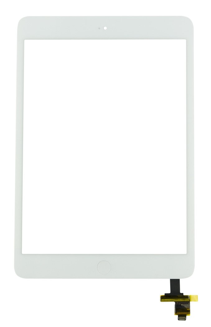 iPad Mini 1 Screen Replacement Glass Touch Digitizer Premium Repair Kit with Tools and Home Button/Ic Connector by RepairPartsPlus (White) by RepairPartsPlus (Image #2)