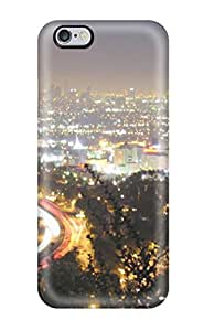 Tpu Case Cover For Iphone 6 Plus Strong Protect Case - Los Angeles City Design 9637215K89556207