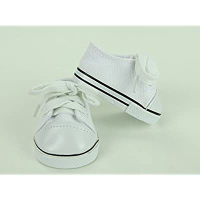 American Fashion World White Sneakers -18