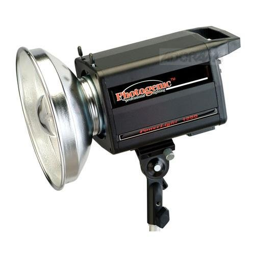 Photogenic PowerLight 1250C , 500ws Monolight with UV Color Corrected Flashtube. (PL1250C)