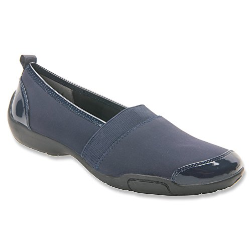 Ros Hommerson Womens Carol Closed Toe Slip On Slippers Blue